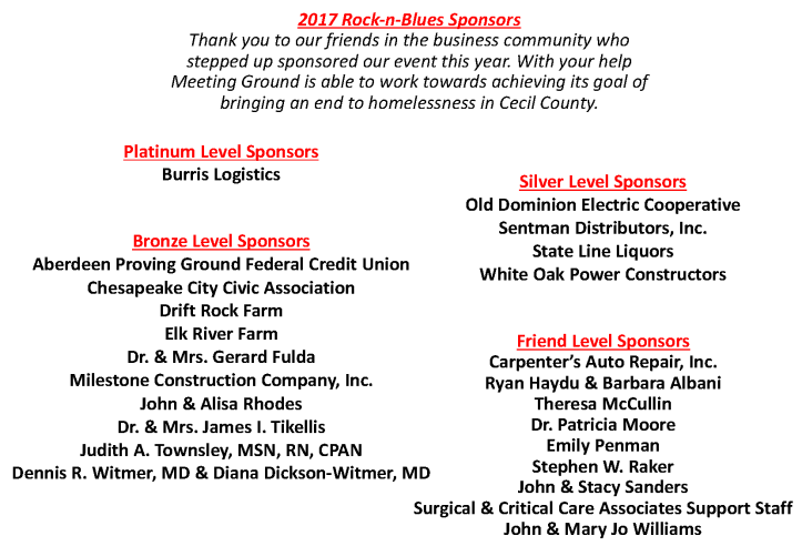 Final 2017 Rock-n-Blues Sponsors